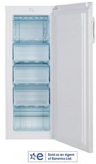 Lec A+ Rated 142cm High Overcounter Static Freezer TU55144W (White)